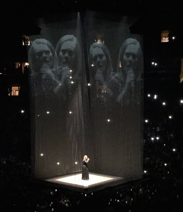 """Adele: """"It Was Just Her, Center Stage With Nothing To Hide"""""""