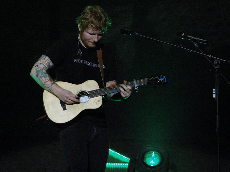 I Saw Ed Sheeran Live in Glasgow!