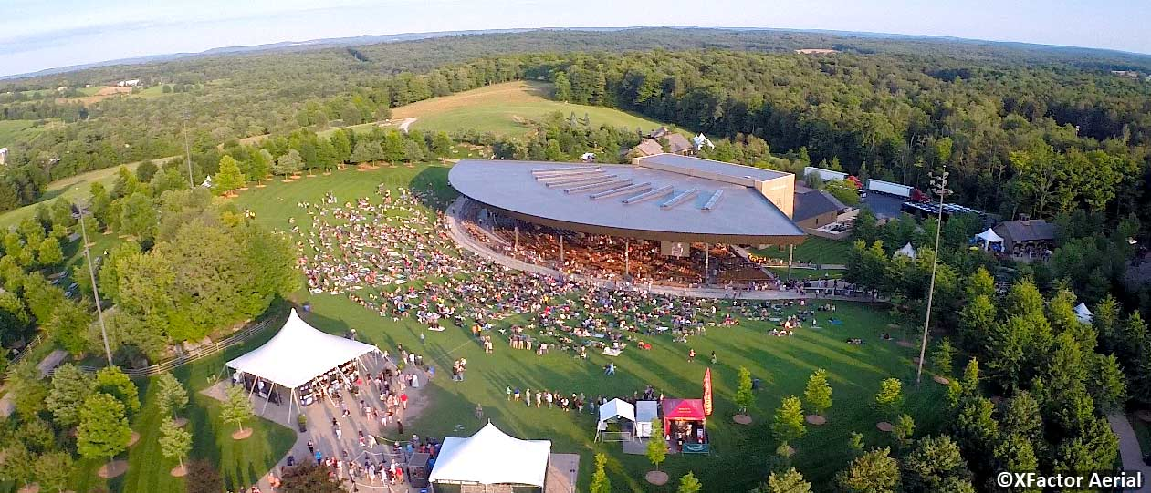 Our Favorite Outdoor Summer Concert Venues