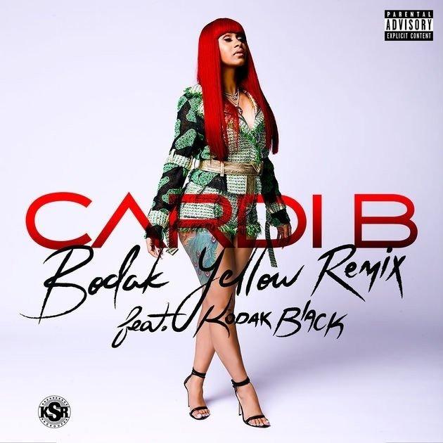 "Kodak Black hops on Cardi B's ""Bodak Yellow"" Remix"