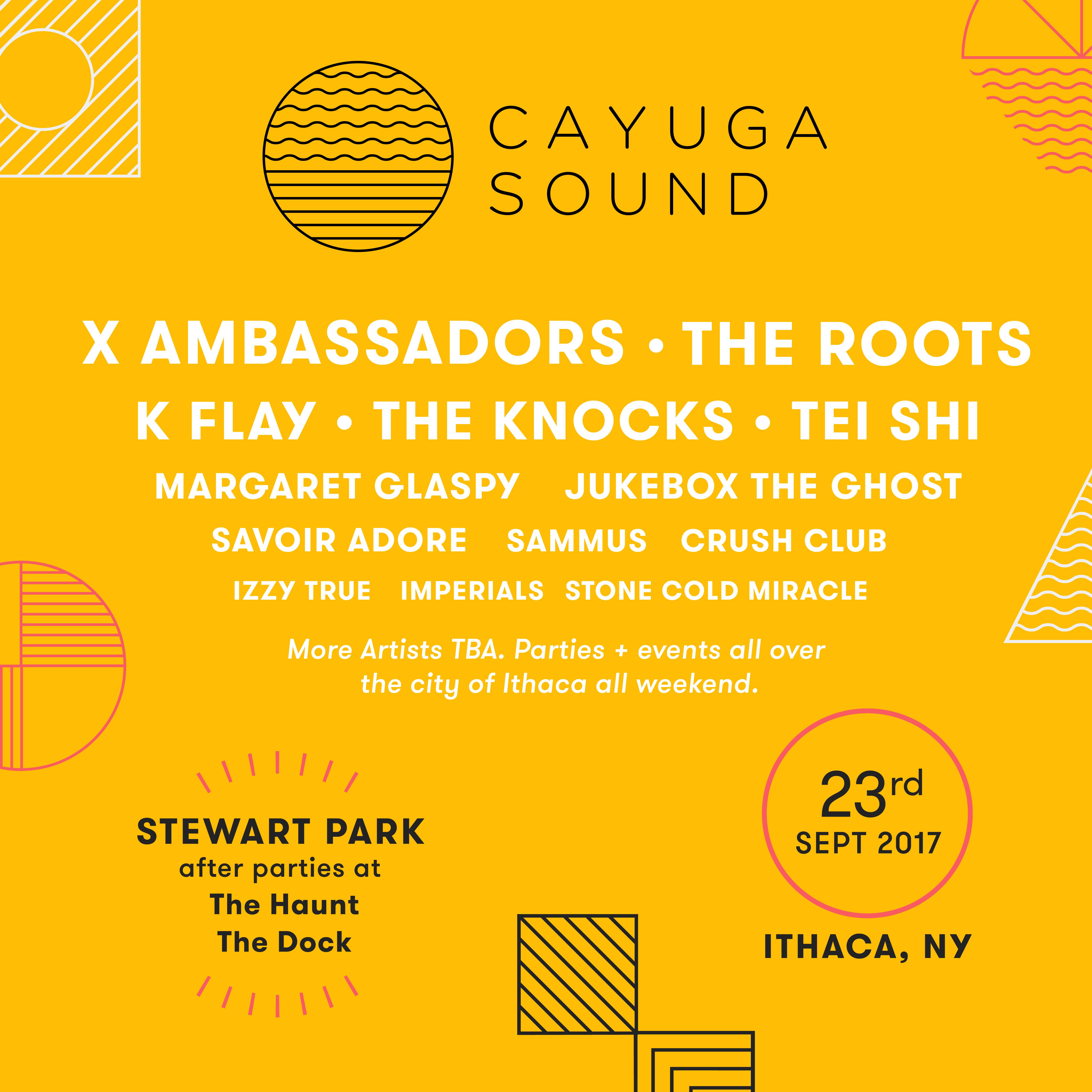 X Ambassadors Talk Cayuga Sound Festival