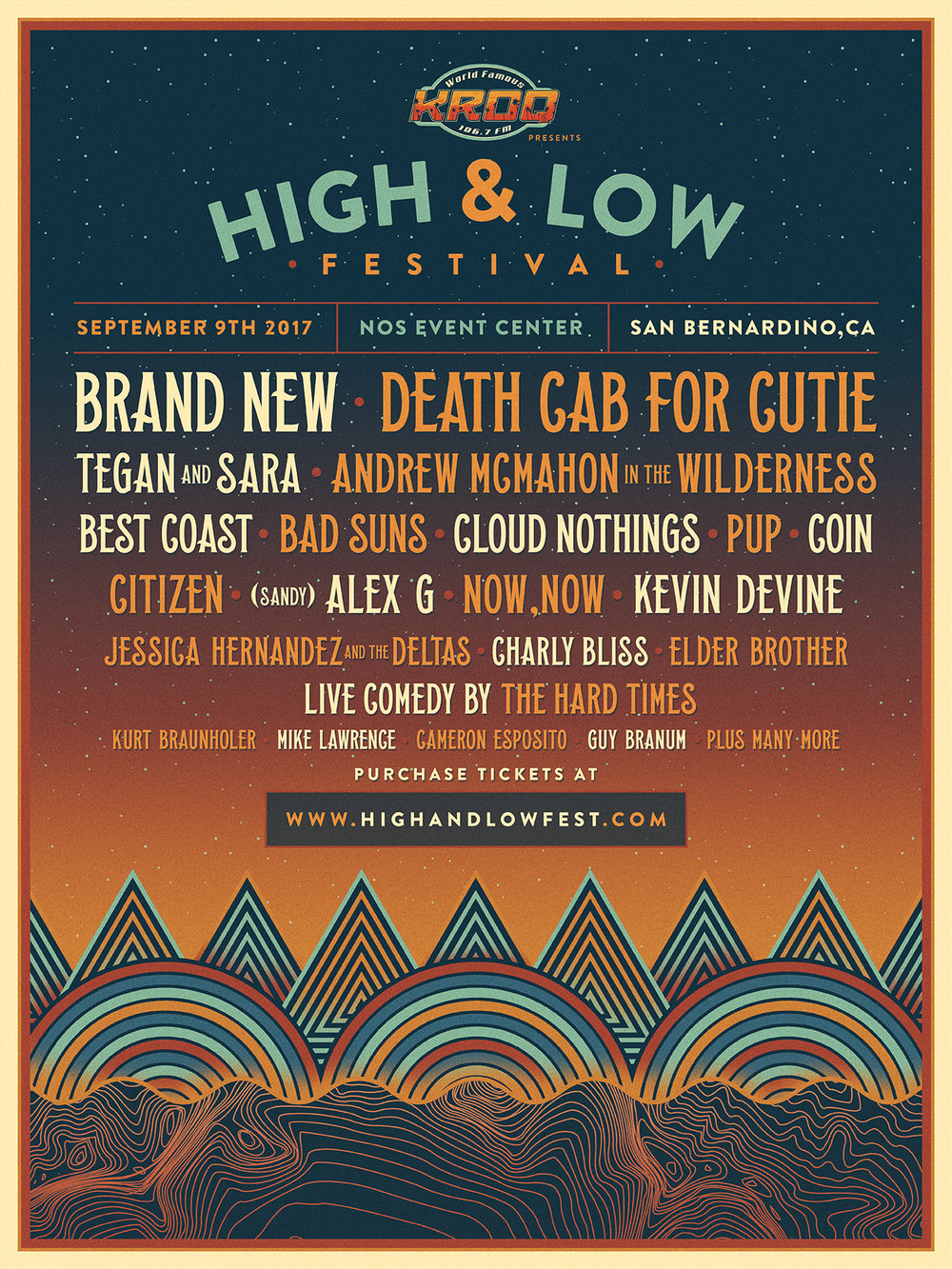 Soundigest will be at High & Low Festival, will you?
