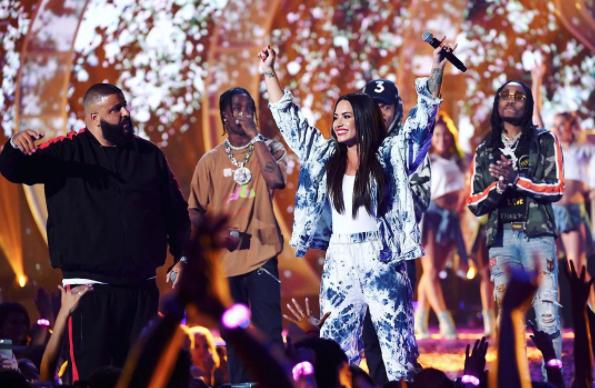 Demi Lovato Announces Tour With DJ Khaled