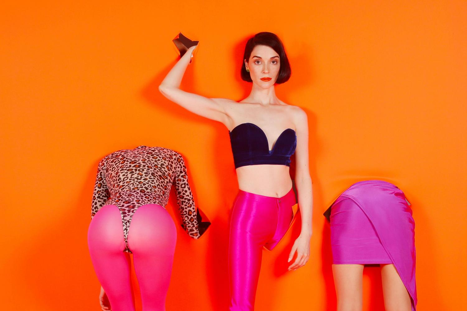 St. Vincent Clashes Intelligence with Fear on 'MASSEDUCTION'
